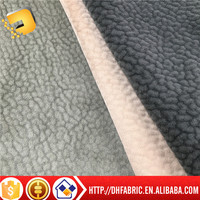 100% polyester fabric for sofa cover with TC/the single side brushed OF factory