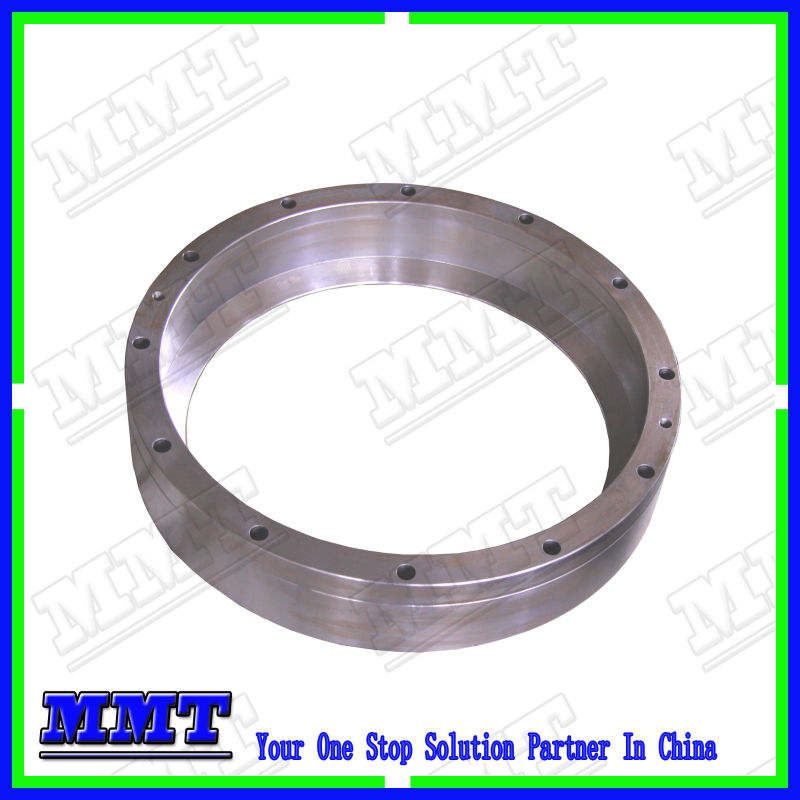 heavy duty cnc machined part of stainless steel round ring for industrial robot