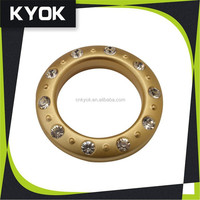 KYOK Mute plastic shower curtain hanging ring, curtain ring for curtain ,Different colors ring can be selected