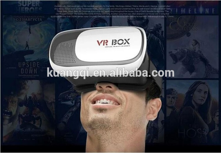 Hot selling 3d vr box glasses hindi blue movies free download images vr box 2.0 with low price