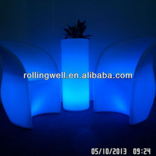 different options factory direct sale color changing rechargeable led furniture sofas