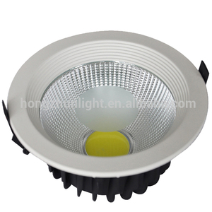 5W 10W 15W 20W 30W COB recessed dimmable square led downlight