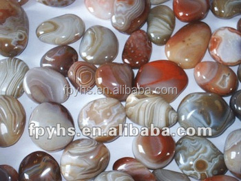 beautiful natural agate with grain