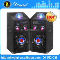 dj bass speakers with amplifier With USB / SD / FM / Laser Light