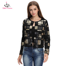 Domin fashion young woman design jacket in new model