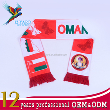 Customized Oman scarf, printed sublimation scarf, best-selling scarf shawl