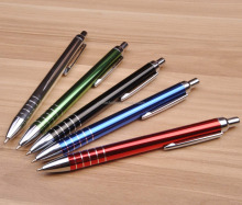 High quality black metal pen for promotion