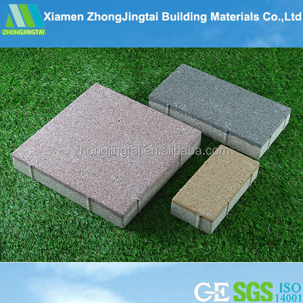 China supplier of good abrasion resistance of colorful landscaping weather resistance clay paving brick