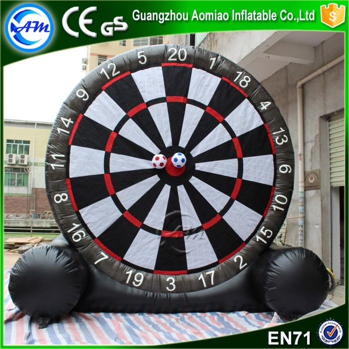 Factory inflatable golf dart boards inflatable dart game/inflatable soccer darts for sale