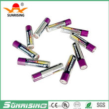 Lowest price 380mins lr6 alkaline battery 1.5v aa am3 um3 dry cell battery