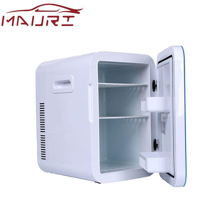 Glass door surface 78W 20L Digital display portable fridge 12V mini freezer for car