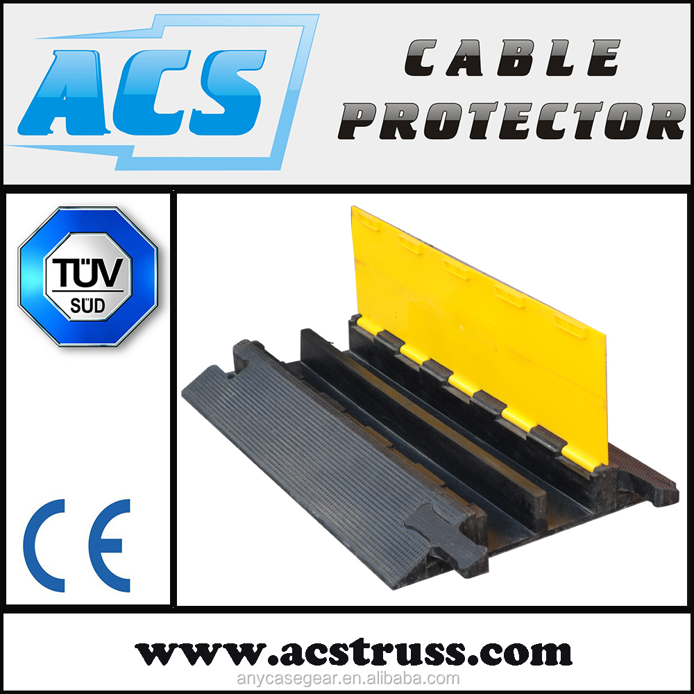 ACS 900X580mm Cable Ramp Floor Protector/Heavy Duty Wire Cover/Rubber wire protector with best price