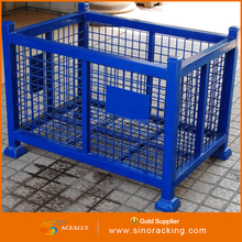 Material handling equipment stackable workbin