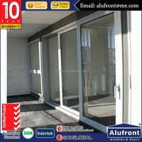 Guangzhou Alufront AS 2047 STANDARD aluminum sliding doors with commercial standard