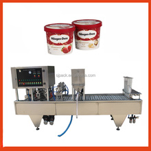 Shanghai Factory Price For sour cream filling machine