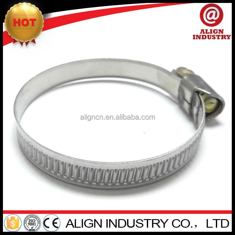 Manufacturer din 3017 germanytype stainless steel seal clamps made in China