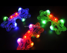 Led star party glasses colorful led flash eyeglassesSJ-LG38