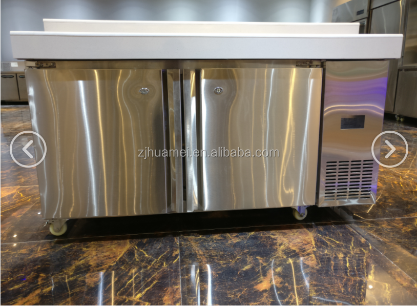 High quality 304 Stainless Steel Underbench Kitchen Fridge, commercial <strong>refrigerator</strong>
