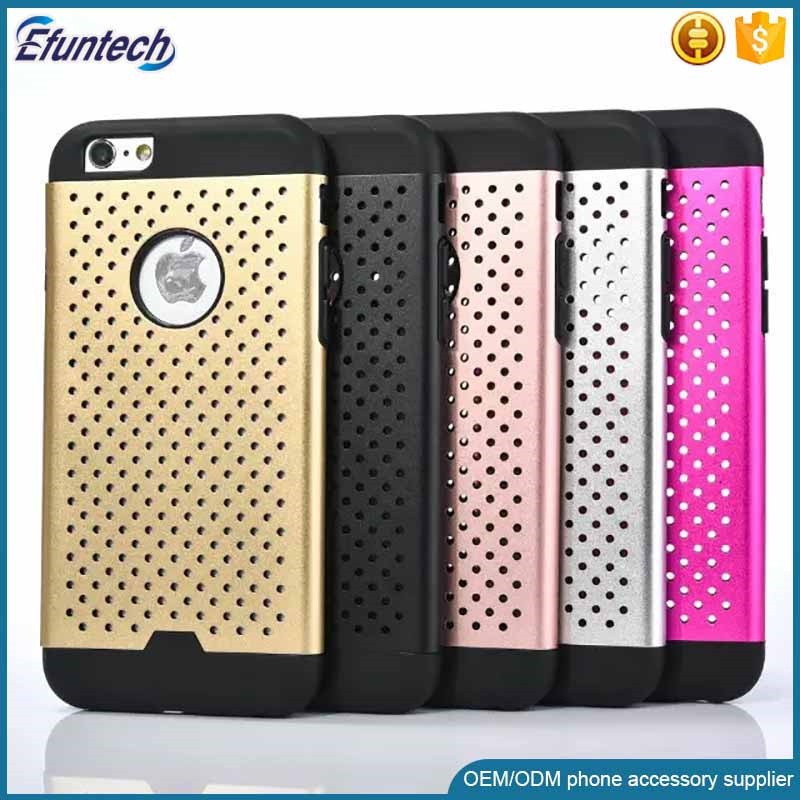 Low price 2 in 1 hard plastic and silicone cell phone case for samsung galaxy S3 S4 S5 s6 s6edge cover