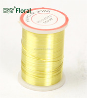 HSY 32gauge colored beading wire/jewelry wire(factory) Hot Sales