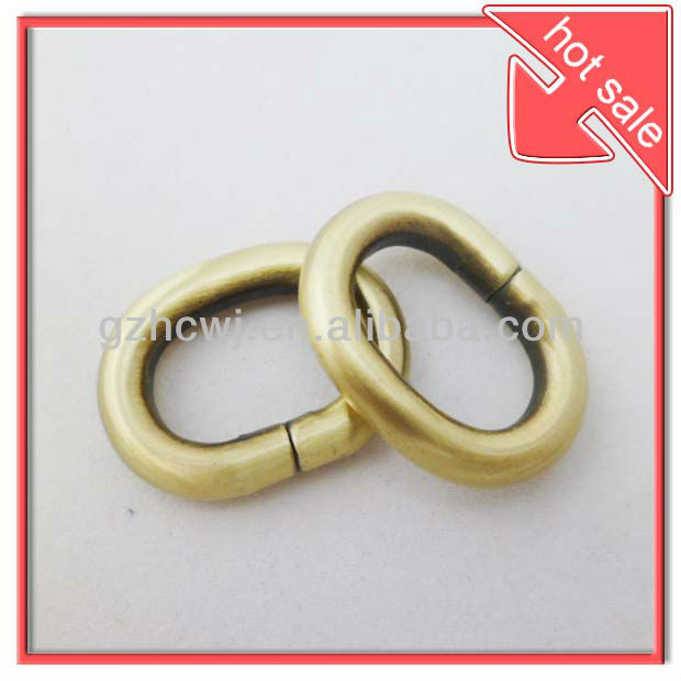 20mm Antiques brass metal O ring bag iron ring