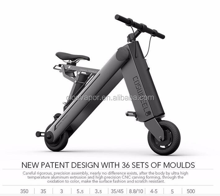 2016 best sell reddot award new Coswheel electric motor folding bicycle Smart electric scooter
