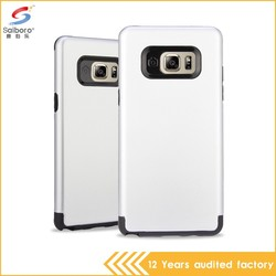 Popular style double color in one best for samsung galaxy cases
