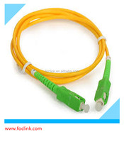 made in china long time warranty SC APC G657A LSZH optical fiber patch cord