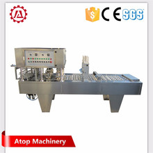 Standard manual plastic cup sealer machine automatic plastic cup making machine star cup filling and sealing machine