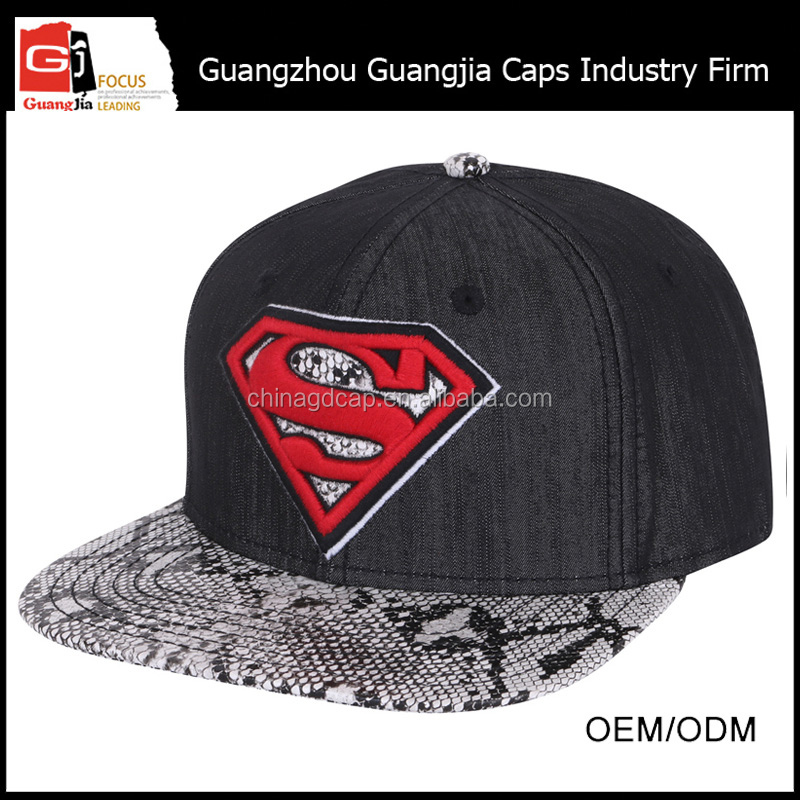 Guangjia Factory Manufacturer Best Selling Custom High Quality Embroidery Logo Free Fabric Hat Pattern For Wholesale