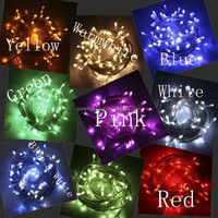 commercial PVC wire outdoor patio string light/decorative led waterproof light