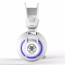3.5mm jack wired headphones wired double ears headset gaming headset