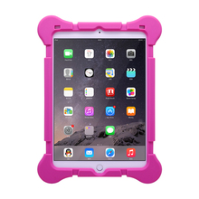 Silicone protective case Antishock design rugged explosion kid proof tablet case for ipad234