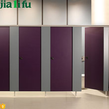 Waterproof hpl compact commercial shower stalls partition wall and door