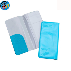 Large Capacity PVC ID Card Ticket Organizer Case Women Men Card Holder Passport Cover Travel Business Card Holder