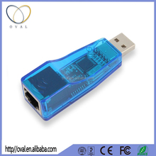 Wireless USB Adapter 2.0 Lan To USB Converter RJ45 Ethernet 10/100Mbps Network Card USB To Lan Port Adapter for PC
