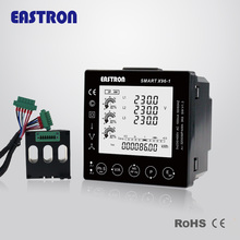 Smart X96-1, 3 phase 4 wire Smart Panel Meter RS485 Modbus RTU with easy plug in solution