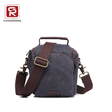 vintage hiking travel water resistant waxed canvas camera bag with shoulder strap for women