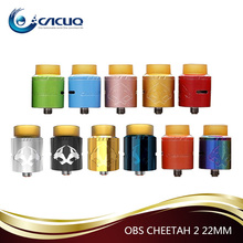 2017 Hot New Products 24mm Cheetah II RDA Tank OBS Cheetah 2 Cacuq Offer