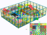 2012 Inflatable Indoor Playground BHID06