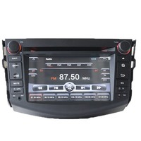 7 Inch Digital Touch Screen Rav4 Accessories Toyota with Navigation 3G Wifi Bluetooth Radio GPS