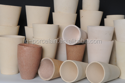 GOLD MELTING BASIN CRUCIBLE Ceramic Fire Clay Fire Assay Crucibles And Magnesite Cupels