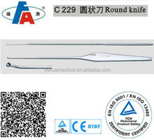 Arthroscopic round knife, surgical arthroscope instruments