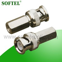 SF177 Drop RF BNC connector,rf switch connector/drop wire connector,braided wire connectors/2 wire connector