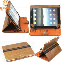 For ipad Portfolios,leather case for ipad2,Elegant case for ipad