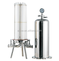 Wine, Bottled Water Processing Multi-round and Single Round CE Marked SS 316/304 Sanitary Cartridge Filter Housings and Vessels