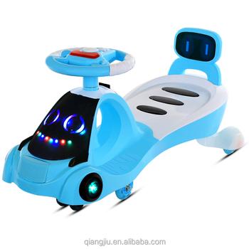 2018 new design kids ride on twist toy car plasma car swing car with popular colors