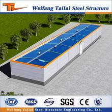low cost cheap prefabricated steel structure warehouse and office building