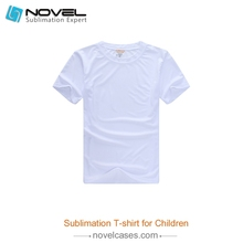 DIY heat press Sublimation Blank T-Shirts for children