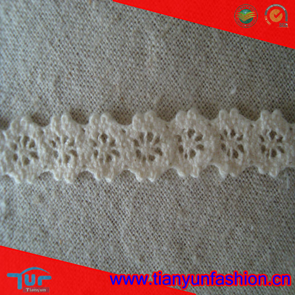new pattern Italian Cotton Lace Edging